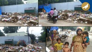 Photo of Hyderabad: Garbage piles up, stench spreads near Osmania Hospital