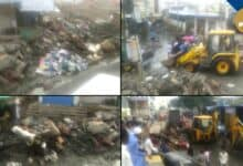 Photo of GHMC Should cleanliness in Rain affected areas