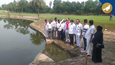 Photo of Tolichowki Floods: Golf club and Colonies built-in FTL of Shah Hatim talab