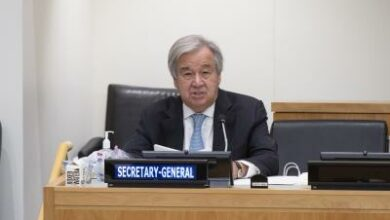 Photo of Guterres calls for investment in culture over global solidarity