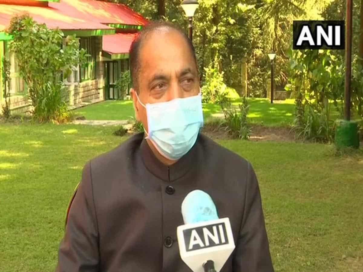 Himachal Pradesh CM Jairam Thakur tests positive for COVID-19