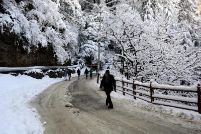 Himachal's Keylong gets first snow of season