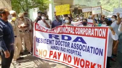 Hindu Rao row: 23 corona patients shifted, MCD Mayor slams govt (Ld)