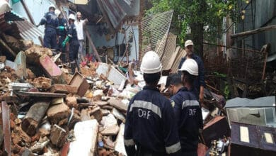 Photo of Hyderabad: 2 dead & 5 injured in house collapse in old city