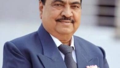 Photo of I quit BJP only because of Fadnavis: Khadse (Ld)