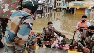Photo of Indian Army teams on standby in view of heavy rain forecast