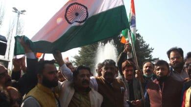 Photo of BJP celebrates Accession Day in Kashmir; takes out Tiranga Rally