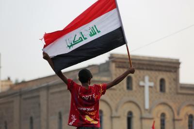 Iraqis mark 1st anniversary of anti-govt protests