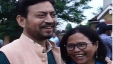 Photo of Son of Irrfan Khan shares throwback video of parents