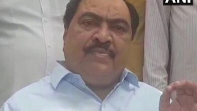 Photo of Will join NCP on Oct 23, have suffered a lot in BJP: Khadse