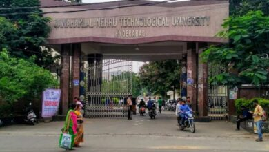 Photo of Students oppose JNTU-H semester exams; demand direct promotion