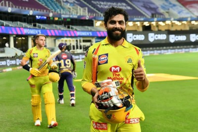 Jadeja batting 'freely', gives CSK something to smile