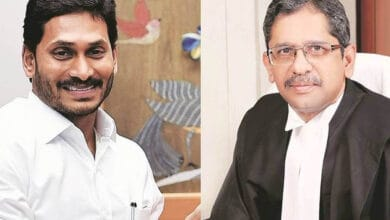 Photo of Jagan's attack on Justice Ramana is a smear on SC collegium