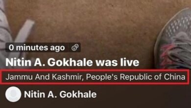 Photo of Twitter under fire as it shows J&K as part of China
