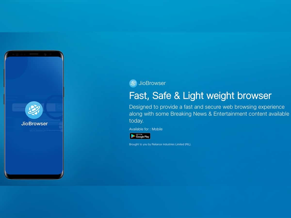 Jio launches made-in-India JioPages browser