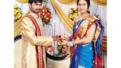 Photo of KCR helps 'adopted daughter' to get engaged, to perform wedding