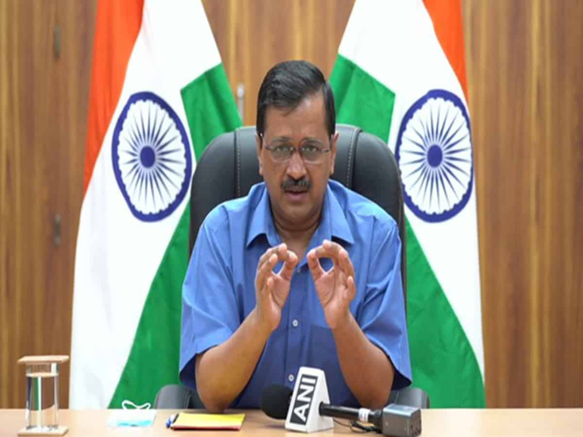Pollution problem can be solved in a year: CM Kejriwal
