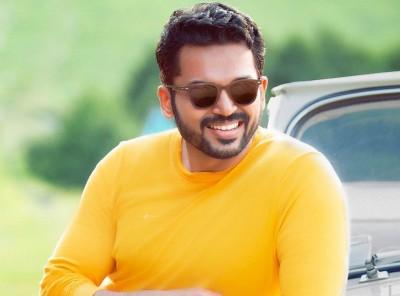 Karthi Sivakumar starts dubbing for 'Sulthan'