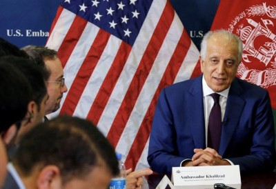 Khalilzad urges Taliban to remain committed to peace deal