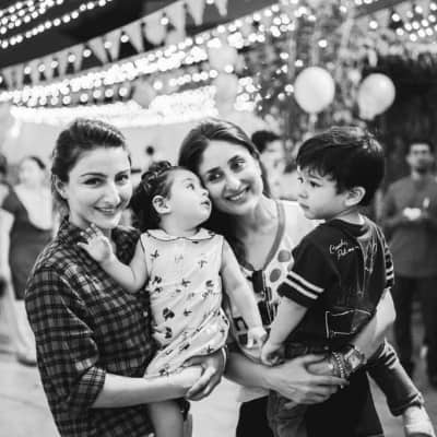 Kunal, Kareena wish Soha on her birthday