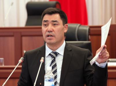 Kyrgyz PM declares himself acting president