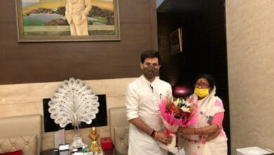 Photo of Ahead of Bihar elections, BJP's Usha Vidyarthi joins LJP