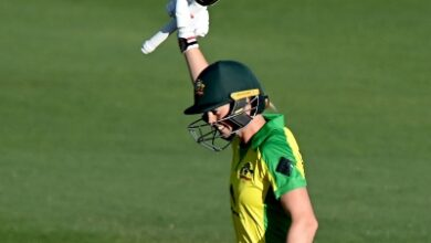 Photo of Lanning's ton guides Australia to 20th consecutive ODI win