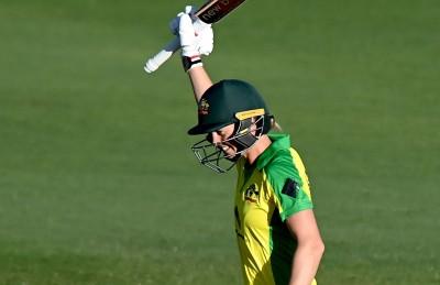 Lanning's ton guides Australia to 20th consecutive ODI win