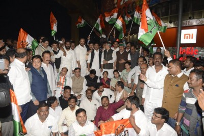 Maha Congress: Repeal 'black laws' against farmers, workers