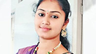Photo of 26-year-old Mancherial woman secures four jobs in two-year span