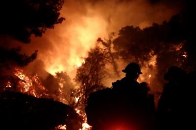Massive California wildfire scorches record 1mn acres
