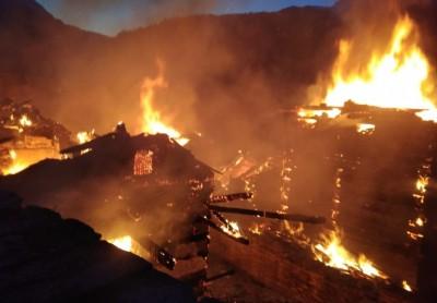Massive fire burns records at Patna's Secretariat, RJD cries foul