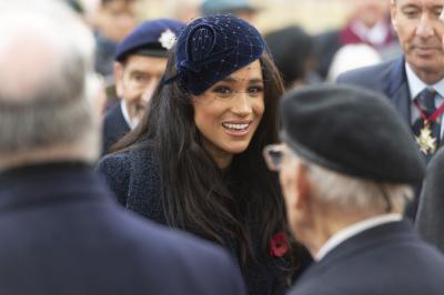 Meghan Markle claims to be 'the most trolled person' of 2019