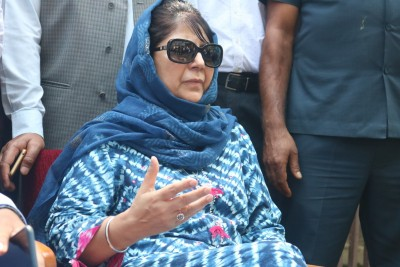 Mehbooba Mufti released from detention after over a year (Ld)