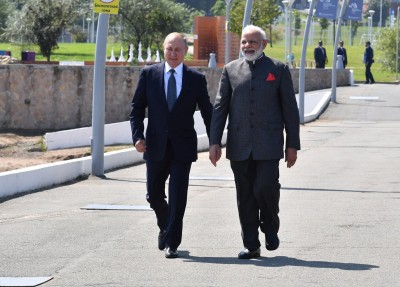 Modi wishes Putin on 68th birthday
