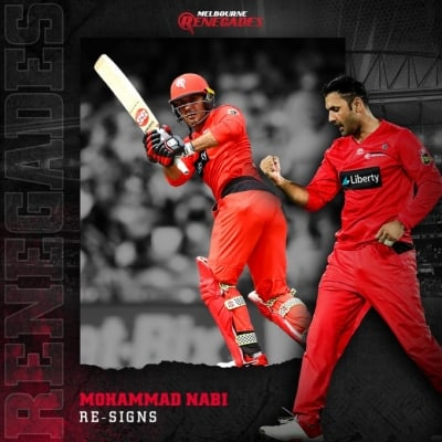 Mohammad Nabi returns to Melbourne Renegades for BBL 10