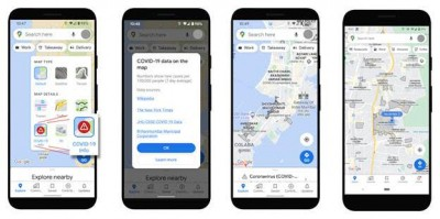 Mumbai residents can view Covid containment zones in Google Maps