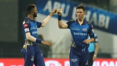 Photo of Mumbai speedster Trent Boult takes 50th IPL wicket
