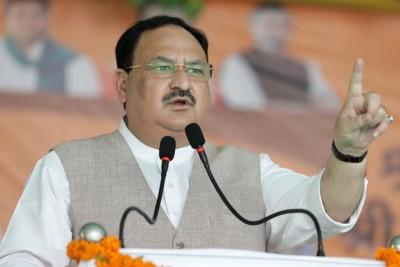 Nadda calls RJD-CPIML alliance 'destructive', 'chaotic'