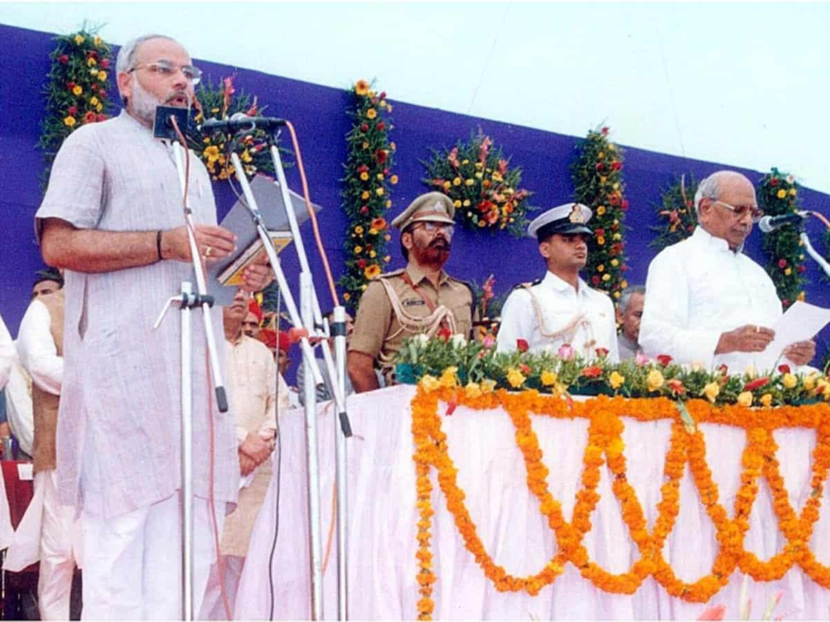 Narendra Modi Gujarat CM