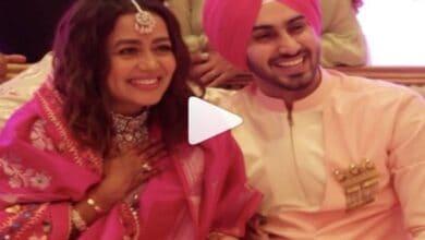 Photo of Neha Kakkar shares video of Roka ceremony with Rohanpreet Singh
