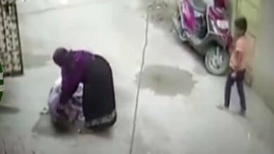 Photo of Caught on camera: Woman brutally thrashes mother-in-law in Hyderabad