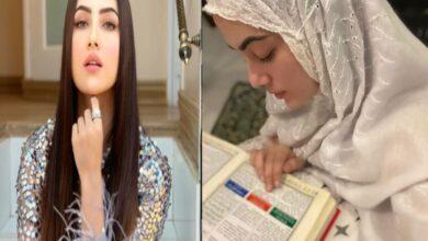 Photo of Bigg Boss-fame Sana Khan leaves showbiz, to follow religious path