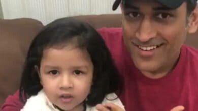 Photo of India expresses shock at rape threat to Dhoni's daughter Ziva