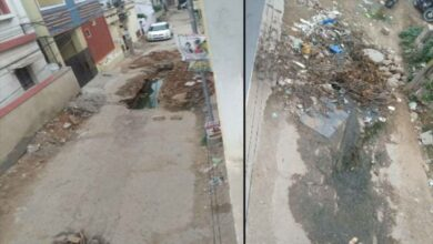 Photo of Rs 50 crores to be spent on the repair work on roads in  Alwal