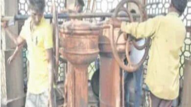 Photo of As engineers fail, local mechanic opens the gate of  Fox Sagar Lake