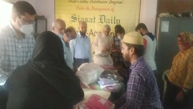 Photo of Hyderabad Floods: Faiz-E-Aam, Siasat Millat fund distribute relief package
