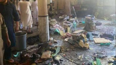 Photo of Pakistan: Madrasa exploded in Peshawar; 7 killed and several injured