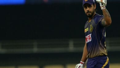 Photo of IPL 2020: Rana's 87-run knock guides KKR to 172/5 against CSK