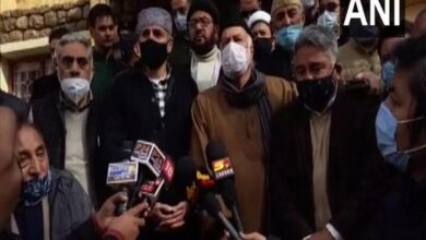 Photo of Our fight is against BJP, not India: Omar Abdullah